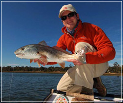 Captain Seth with Redfish